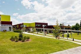 instalaciones del Colegio Peleteiro - FOTO: ecg