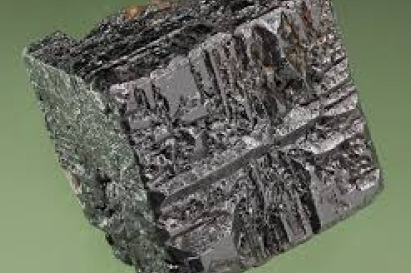 Imagen del mineral perovskita