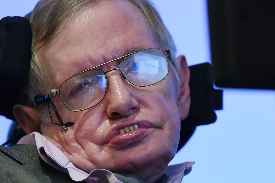 LONDRES (R.UNIDO), 13/03/2018.- Fotografía de archivo del 2 de diciembre de 2014, del físico británico Stephen Hawking durante una conferencia de prensa en Londres (Reino Unido). - FOTO: EFE/ANDY RAIN/ARCHIVO