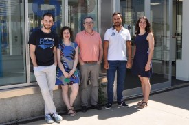 Grupo de traballo do Laboratorio de Neurociencias da Universidade de Vigo - FOTO: DUVI