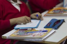 Colegio, escuela, aula, primaria, clase, niño, niña, niños, estudiando, estudiar  - FOTO: Europa Press - Archivo