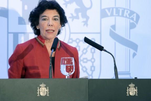 La ministra Isabel Celaá - FOTO: E.P.