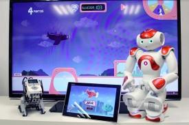 Videojuegos y robots para enseñar a los niños los conceptos básicos sobre la gestión de la diabetes. - FOTO: UPV