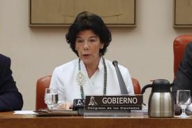 La ministra de Educación, Isabel Celaá (ARCHIVO). - FOTO: J.J. Guillen. EFE