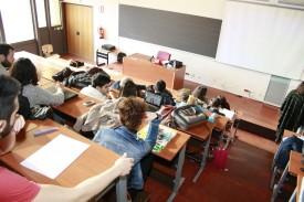 Alumnos de una Universidad - FOTO: Europa Press (ARCHIVO)