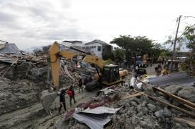 Imagen del terremoto y el tsunami en Célebes  este año pasado   - FOTO: EFE