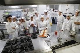 Alumnos de FP de cocina y restaurarción - FOTO: FERNANDO BLANCO