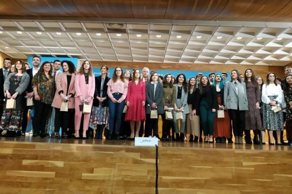 En la imagen, los universitarios gallegos que recibirán los premios Fin de Carrera 2017 - FOTO: EUROPA PRESS