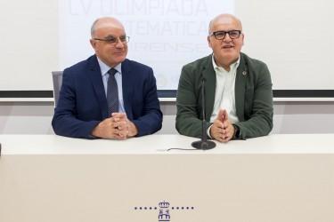 Manuel Baltar y José Luis Díaz Barrero en la presentación del evento - FOTO: DIPUTACIÓN DE OURENSE
