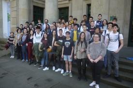 Participantes en la XXXVI Olimpiada Gallega de Química 2019 - FOTO:  Colegio Oficial de Químicos de Galicia