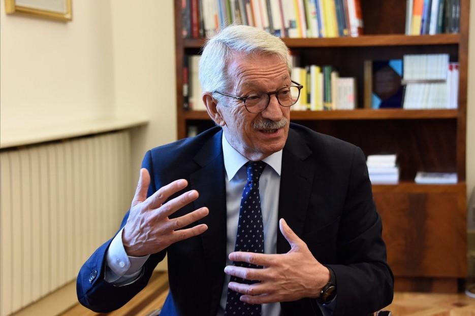 Alejandro Tiana, secretario de Estado de Educación, en su despacho del Ministerio    - FOTO: MINISTERIO DE EDUCACIÓN Y FORMACIÓN PROFESIONAL