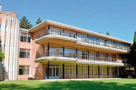 El Centro Superior de Hostelería de Galicia está situado en A Barcia