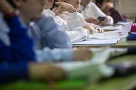 Alumnos en un centro escolar de Galicia  - FOTO: XUNTA DE GALICIA - Archivo
