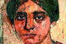 Supuesto retrato de Egeria hecho en vida de la peregrina