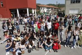 Alumnos de secundaria  - FOTO: EUROPA PRESS - Archivo
