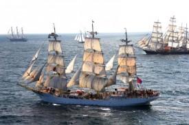 Imagen del buque-escuela noruego Sorlandet - FOTO: ecg