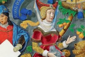 constanza de Castilla, duquesa de Lancaster - FOTO: Genealogía de los Reyes de Portugal