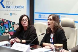 Presentación del protocolo de intervención para alumnos con dislexia y otras dificultades en la Consellería de Educación e Universidades  - FOTO: XUNTA