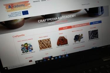 Web donde se incluye CraftPedia, primera enciclopedia virtual europea de artes y oficios -  - FOTO: EUROPA PRESS