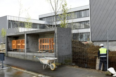 ÚLTIMA FASE. Estado actual del edificio que alberga el centro de salud - FOTO: Sangiao