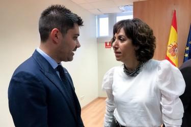 David Aganzo e Irene Lozano, juntos en una fotografía de archivo. - FOTO: AFE