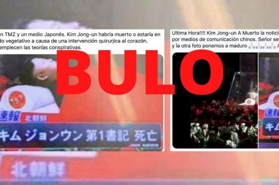 Montaje compartido en redes con la cara de Kim Jong-un.  - FOTO:  Maldita.es