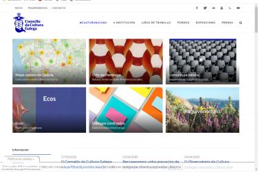 Web do CCG onde se pode acceder a Diálogos confinados