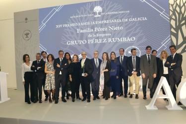 Premio a la Familia Empresaria para Pérez Rumbao